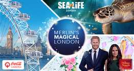 London Cluster Ticket - The Coca Cola London Eye, Madame Tussauds London & SEA LIFE London