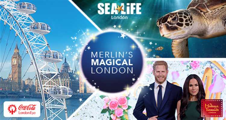 London Cluster Ticket - 3 Attractions Package - The London Eye, Madame Tussauds and the SEA LIFE London Aquarium