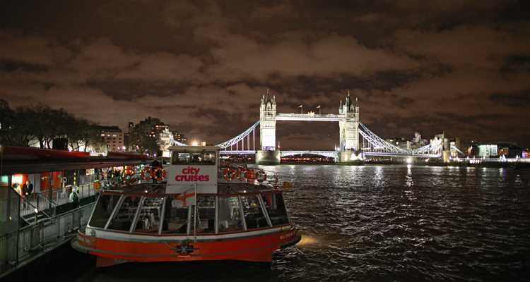 City Cruises by tower Bridge