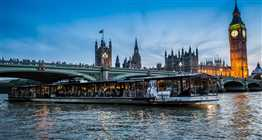 The Glass Room River Thames New Year's Eve Cruise