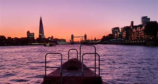 Thames Rockets Sunset Speedboat Experience