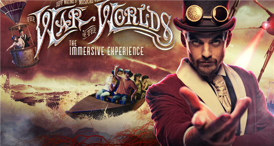 War of the Worlds Immersive Experience London