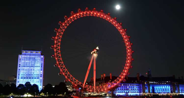 London Eye & Bateaux Symphony Dinner Cruise