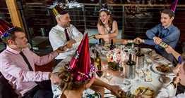 Bateaux Harmony Christmas Dinner Cruise