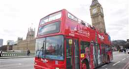 City Tour London Open Top Bus