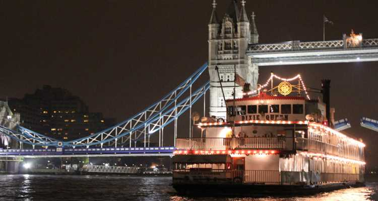 The Dixie Queen, New Year's Eve River Thames Boat Party - LIMITED OFFER £10 OFF PER PERSON