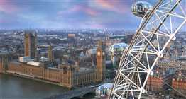 London Eye & Bateaux London Lunch Cruise
