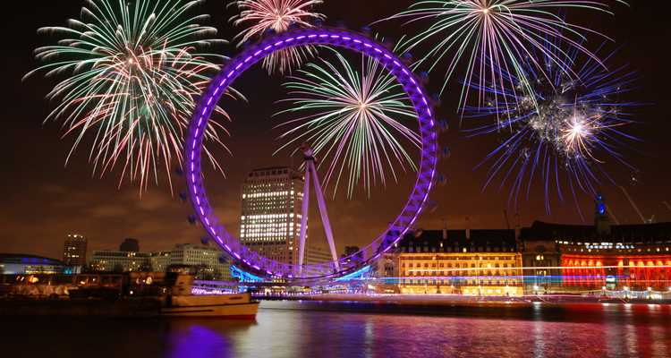 New Years Eve  River Rooms London