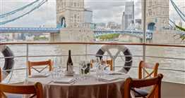 Edwardian Open Deck Dining New Year's Eve