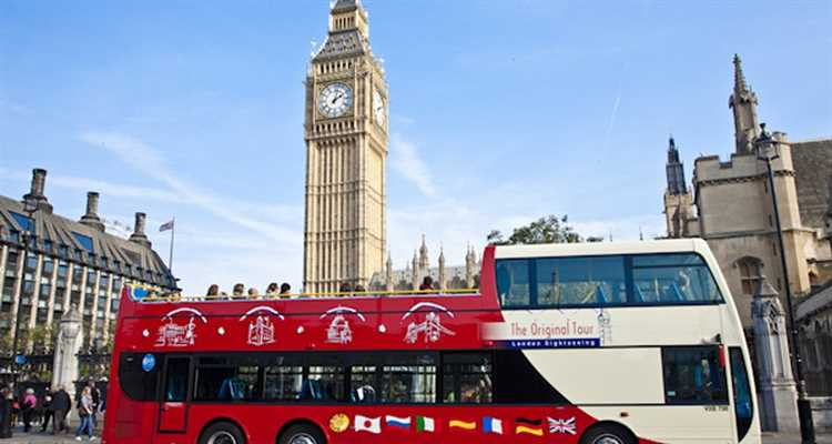 Open Top Bus Tour & London Eye