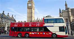 Open Top Bus & Big Ben