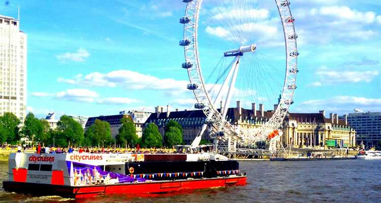 River Red Rover Thames City Cruise Tickets