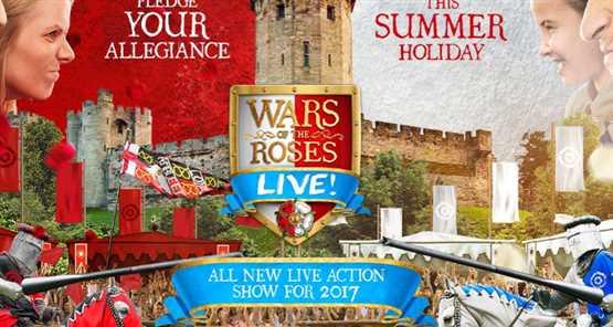 Warwick Castle War of Roses